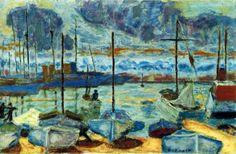 Pierre Bonnard 1927 - Le port de Cannes                                                                                                                                                                                 More