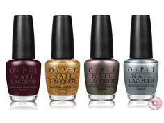 OPI Skyfall Holiday 2012 Nail Polish Collection..one of my favorite collections..the colors look better in person
