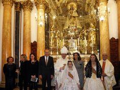 En la presentación de la restauración del Camarín de la Virgen de los Desamparados
