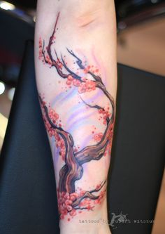 Cherry blossom tree by Robert Witczuk pin for background coloring