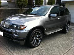 BMW X5 4.8is Check out for more on: http://dailybulletsblog.com/60-best-pictures-of-bmw-x5-e53/ #X5 #E53 #BMW