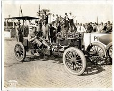 Oldfield at Indy 1916 | First Super Speedway