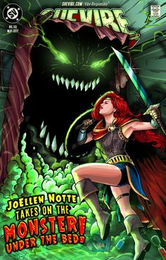 JoEllen Notte is battling The Monster Under The Bed! That's the title of a new book she's working on that helps people navigate sex and relationships while coping with depression. Heavily informed by Notte's original research, this book will be the first of its kind. This is a guidebook for people with depression and the people who love them, as well as a reference tool for mental health professionals. SheVibe is proud to support JoEllen's heroic efforts, and we hope you will ...