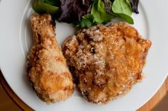 Gluten-Free Southern Fried Chicken / The Domestic Man  {wowza... paleo fried chicken?} #paleo #glutenfree #recipe