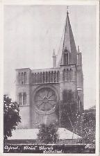 POSTCARD CHRIST CHURCH CATHEDRAL OXFORD OXFORDSHIRE c1900 - 1920