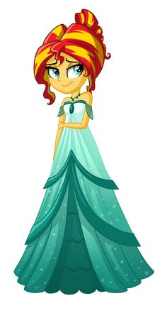 Sunset Shimmer from my little pony friendship is magic Equestria Girls and Equestria Girls rainbow rocks