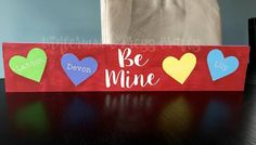My latest couple signs!  :D  DIY Valentine's Love Signs - Silhouette Projects