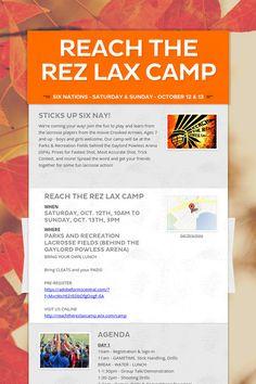 REACH THE REZ LAX CAMP