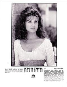 Donna Murphy (Anij) In Star Trek Insurrection 1998 Movie Promotional Photograph Black & White