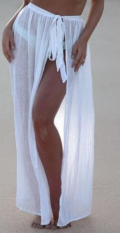 Summer Beach Cover Up skirt Summer Beach Cover Up skirt - Bikini Modelle Beach Cover Up Skirt, Beach Skirt, Beach Covers, Beach Dresses, Nice Dresses, Summer Dresses, Dress Beach, Fashion Design Inspiration, Beach Vacation Outfits
