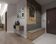 Nowoczesne wnętrze w odcieniach brązu - Hol / przedpokój, styl nowoczesny - zdjęcie od SO INTERIORS Architektura Wnętrz