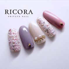 21 Super Cute Nails You Have to Try – Healthick Asian Nail Art, Asian Nails, Glitter Nail Art, Gel Nail Art, Korea Nail Art, Japan Nail, Pearl Nails, Modern Nails, Chic Nails
