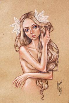 Nymph by BlackFurya on DeviantArt