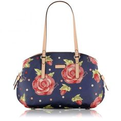 Dear Santa, #MyRadleyChristmas Autumn Rose, Large Shoulder Bag