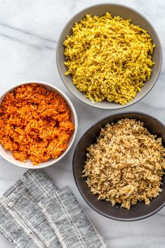 3 Simple Ideas to Upgrade Your Next Batch of Cauliflower Rice | https://helloglow.co/cauliflower-rice-three-ways/
