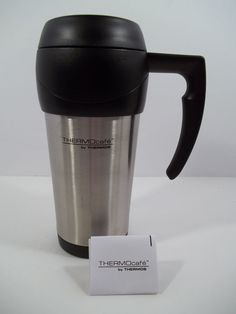 Thermocafe Stainless Travel Mug by Thermos 16 oz - NEW! #Thermos