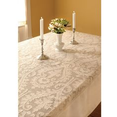 "60"" x 84"" Downton Abbey Duneagle Rectangle Tablecloth"