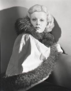 George Hurrell - Jean Harlow (1932)
