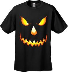 Pumpkin Head Halloween T-Shirt