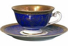 German Tea Cup & Saucer | Tea Time, Teapots and Teacups | Pinterest