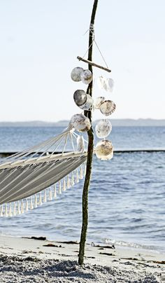ॐ Lay down and listen to sea shell windchimes ॐ
