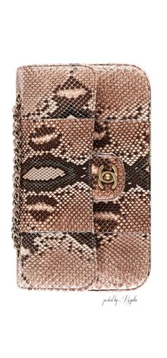 Chanel fw 14/15 - Shop our Vintage Chanel Python bag now at RiceAndBeansVintage. http://www.riceandbeansvintage.com/collections/vintage-chanel/products/vintage-chanel-python-handbag