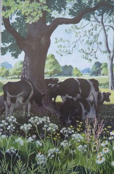 Charles Tunnicliffe - reminds of the fields where I used to play