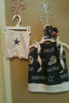 Dallas Cowboys pillowcase dress cute... So easy to make