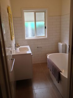 new renovated bathroom