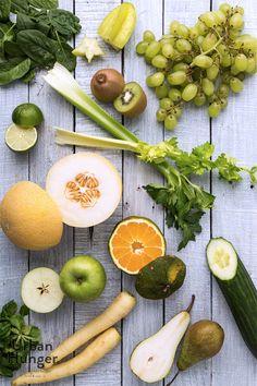 Green Energy Saft Zutaten / Juice ingredients