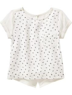 Number-Print Tops for Baby Product Image