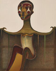 Izumi Kato (Japanese, b. 1969), Untitled, 2012. Oil on canvas, 162.5 x 130.5 cm.