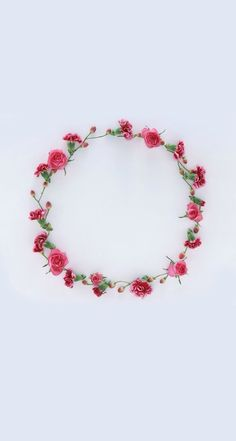 Roses Garland ★ Find more Cute Vintage wallpapers for your #iPhone #Android iPhone Wallpapers