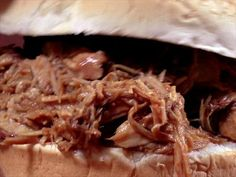 Slow-Cooker Pulled Pork Sandwiches Recipe : Food Network Kitchen : Food Network