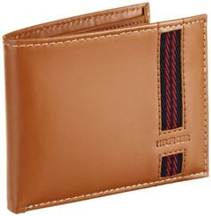 Tommy Hilfiger Men's Richards Pacsscase Billfold, Tan, One Size Tommy Hilfiger. $23.94. Removable pass. Hand Wash. 95% Cowhide Leather/5% Polyester. Extra storage compartments. 4 Credit card pockets. Bill compartment