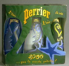 Les Arts Décoratifs - Site officiel - Perrier - Packaging Perrier, 1999, agence Dragon Rouge
