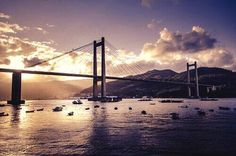 Puente de Rande #Vigo, vía @PaulaFC_psyg