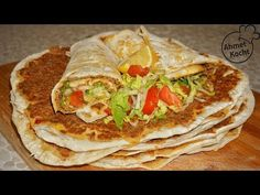 Lahmacun XXL | Ahmet Kocht | türkisch kochen | Folge 368 - YouTube Torta Recipe, Mediterranean Recipes, Baking Tips, New Recipes, Turkey, Food And Drink, Cooking, Ethnic Recipes, Sweet