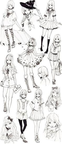 Imagen de anime, manga, and draw