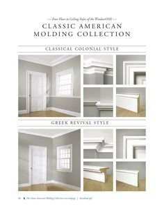 The Classic American Molding Collection: Historically Accurate Moldings // WindsorONE