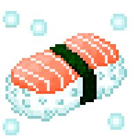 Pixel Art Food, Anime Pixel Art, Motifs Perler, Perler Patterns, Overlays Cute, Pixel Drawing, 8 Bit Art, Good Vibe, Illustration Techniques