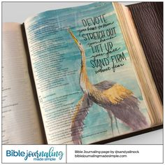 Bible Journaling Made Simple — Job 11