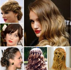Vintage Hairstyles For Prom These easy hairstyles step by step are fab Prom Hair Medium, Haircuts For Medium Hair, Prom Hairstyles For Long Hair, Prom Hair Updo, Teenage Hairstyles, Short Hair Updo, Short Hairstyles For Women, Down Hairstyles, Medium Hair Styles