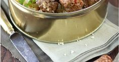 Boulettes de boeuf, saveur couscous | Recipe | Couscous, Cuisine and Beef