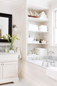Traditional Full Bathroom with double-hung window, Bathtub, partial backsplash, Standard height, Undermount sink, Paint