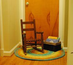Reading Corner at Vibrant Wanderings
