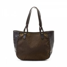 LXRandCo guarantees this is an authentic vintage Dior tote. This beautiful  work bag was crafted in trotter canvas in dark brown. 47e218d223