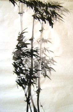 bamboo - asian style painting