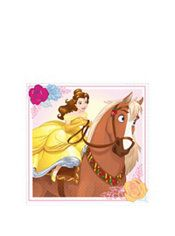 Beauty and the Beast Beverage Napkins 16ct $2.02