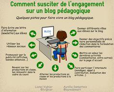 Comment susciter de l'engagement de la part des élèves sur un blog pédagogique ?